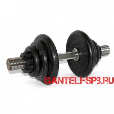 Гантель разборная 24 кг MB Barbell серия PRO D51