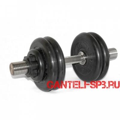 Гантель разборная 29 кг MB Barbell серия PRO D51