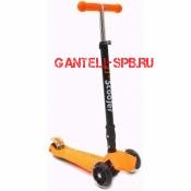 Самокат Scooter Maxi оранжевый