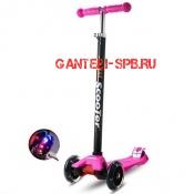 Самокат Scooter Maxi розовый