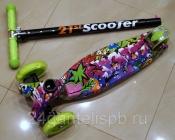 Самокаты Scooter 21st MAXI PRINT SHINE