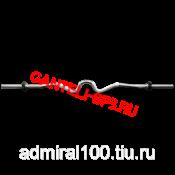 Гриф W - Образный хромированный прямой, d = 26 мм
