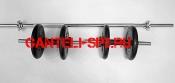 Комплект штанга прямая + 2 гантели вес 30кг(арт1)