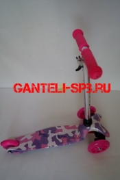 Самокаты Scooter 21st MINI PRINT Фиолетовый