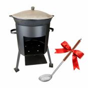 Казан 22 литра, печь+ подарок