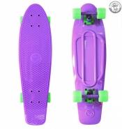 Крузер  27 фиолетовый - колеса зеленые