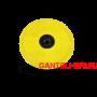 Диск обрезиненный, желтый, евро-классик 15кг